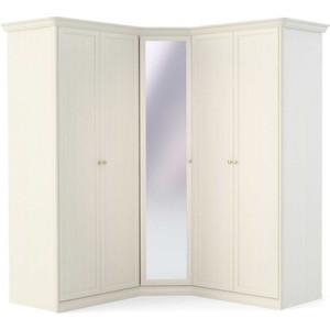 Шкаф (2 дверный+угловой с зеркалом+2 дверный) Шатура Tiffany ясень Т8П-02 483019