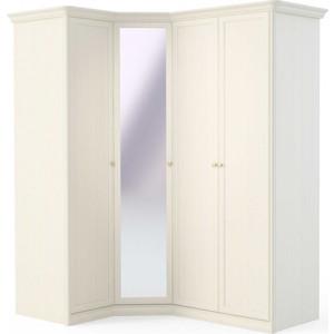 Шкаф (1 дверный+угловой с зеркалом+2 дверный) Шатура Tiffany ясень T8 П-02 483004