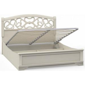 Кровать 2 спальная Шатура Tiffany ясень AK5-01.T8 П вставка 160 с п/м 420332