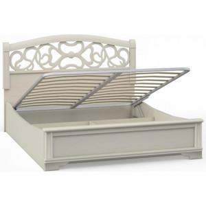 Кровать 2 спальная Шатура Tiffany ясень AHB-01.T8 П вставка 180 с п/м 420331