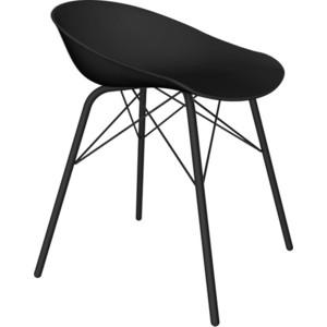 Барный стул Sheffilton SHT-ST19/S64 черный/черный муар