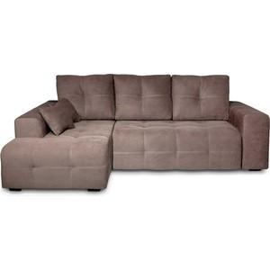 Угловой диван DИВАН Неаполь левый (Verona 74(744) dark brown) арт 60300202