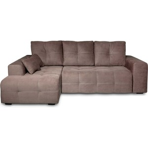 Угловой диван DИВАН Неаполь левый (Verona 74(744) dark brown) арт 60300202 os 74 brown