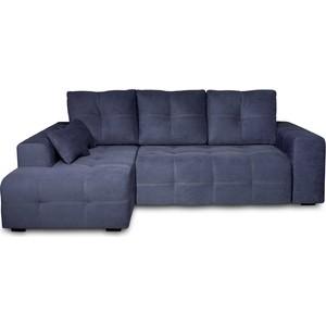 Угловой диван DИВАН Неаполь левый (Verona 37 denim blue) арт 60300204