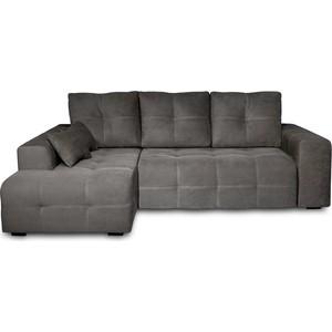 Угловой диван DИВАН Неаполь левый (Verona 66 antrazite grey) арт 60300205