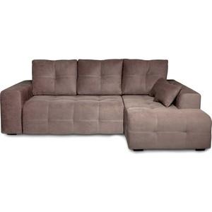 Угловой диван DИВАН Неаполь правый (Verona 74(744) dark brown) арт 60300302