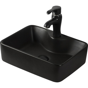 Раковина мебельная Orange B01 черная (B01-475MB)