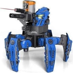 Радиоуправляемый боевой робот-паук Keye Toys Space Warrior, лазер, пульки, синий, 2.4G - KT-9008-1B фото