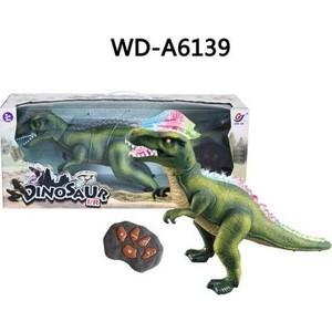 Радиоуправляемый динозавр Dino World световые и звуковые эффекты - TT348 светильник световые технологии 16909