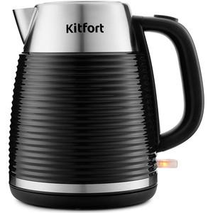 Чайник электрический KITFORT KT-695-1 черный
