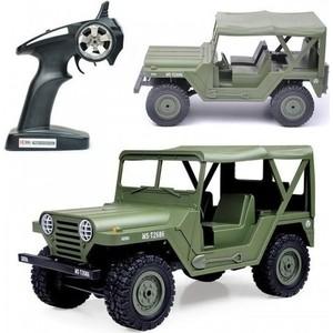 Радиоуправляемый мини-внедорожник Heng Long U.S. M151 Jeep 4WD RTR 1:14 2.4GHz - HL3853C