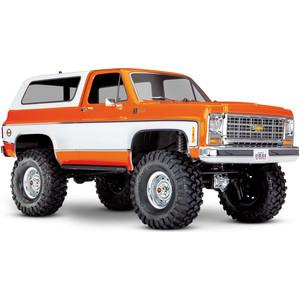 Радиоуправляемый трофи TRAXXAS TRX-4 Chevrolet Blazer 4WD RTR масштаб 1:10 2.4G - TRA82076-4