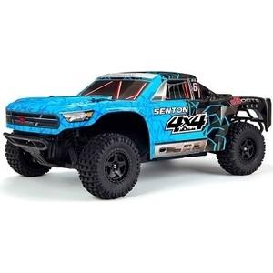 Радиоуправляемый шорт-корс Arrma Senton Mega 550 Brushed 4WD (Blue) RTR масштаб 1:10 2.4G - ARA102715T2 4you радиоуправляемый шорт корс трак rta4 s28 4wd rtr масштаб 1 8 2 4g 6241 f101