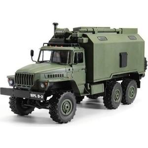 Радиоуправляемый внедорожник Heng Long Советский военный грузовик *Урал* 4WD RTR масштаб 1:16 2.4G - HL3853B грузовик bruder roadmax грузовик 20 000