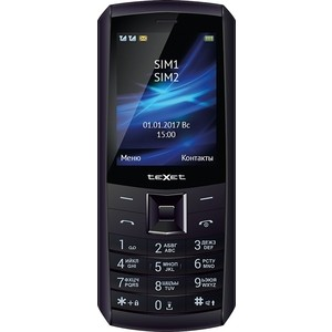 Мобильный телефон TeXet TM-D328 черный