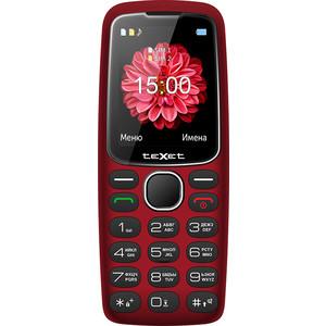 Мобильный телефон TeXet TM-B307 красный