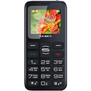 Мобильный телефон TeXet TM-B209 черный texet tm 211 черный мобильный телефон
