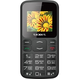 Мобильный телефон TeXet TM-B208 черный