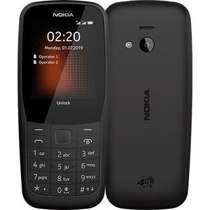 Мобильный телефон Nokia 220 4G (TA-1155) black цена