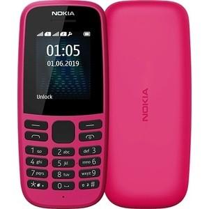 Мобильный телефон Nokia 105 DS 2019 (TA-1174) pink