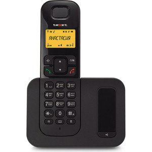 Радиотелефон TeXet TX-D6605A черный радиотелефон
