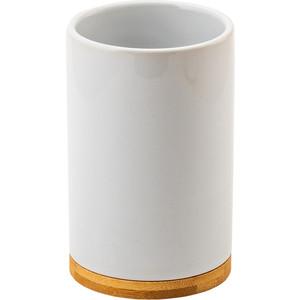 Стакан для ванны Swensa Exo белый (SWTK-8047-C)