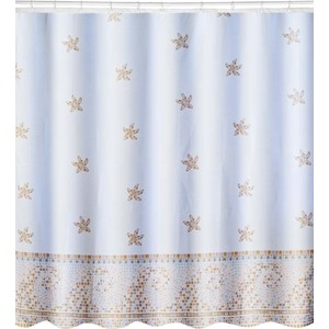 Штора для ванной Swensa Marina 180х180 см (SWC-70-28) штора для кухни тд текстиль асти 29437 кремовый золотой 180 х 300 см