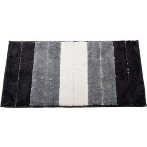Коврик для ванной Swensa Heide 50х80 черно-белый (BSM-8500-BK)