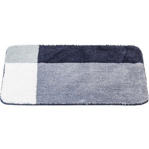 Коврик для ванной Swensa Amster 50х80 бело-серый (BSM-AMSTER-5080) коврик для ванной modalin diana 80 50 см серый