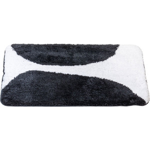 Коврик для ванной Swensa Bim 50х80 бело-черный (BSM-BIM-5080)