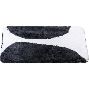 Коврик для ванной Swensa Bim 60х90 бело-черный (BSM-BIM-6090) фото