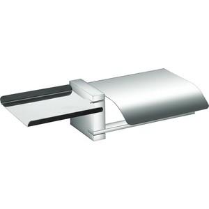 Держатель туалетной бумаги Swensa Function с полочкой под телефон, хром (17800-04)