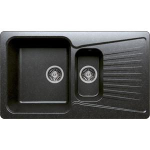 Кухонная мойка Polygran F-18 №16 черный