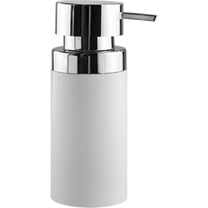 Дозатор для жидкого мыла Wasserkraft Berkel хром/белый, 220 ml (K-4999) дозатор для жидкого мыла wasserkraft berkel k 4999 9062524