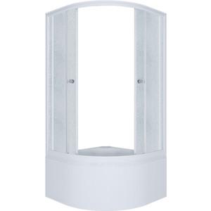Душевой уголок Triton Риф Б 90x90 профиль белый, стекла Грейс (Щ0000025417)