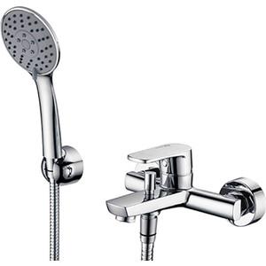 Смеситель для ванны Wasserkraft Dill 6100 хром, с коротким изливом (6101)