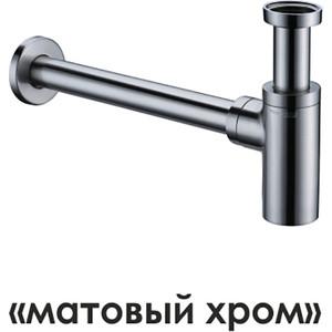 Сифон для раковины Wasserkraft Wern 4200 матовый хром (A093)