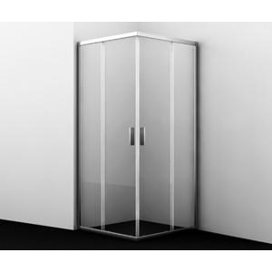 Душевой уголок Wasserkraft Lippe 80x80 профиль хром, стекло прозрачное (45S02)