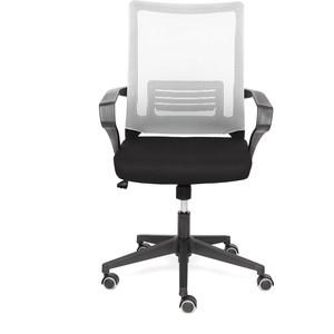 Кресло TetChair Mesh-4 ткань черный/серый