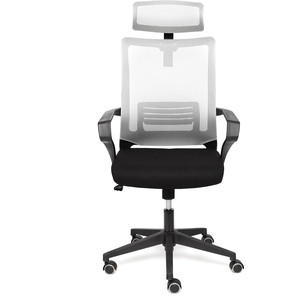Кресло TetChair Mesh-4HR ткань черный/серый