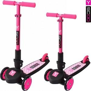 Самокат Y-Scoo Y-SCOO TRIO MAXI 120 pink