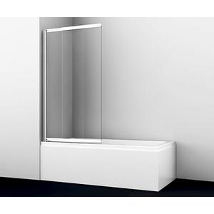 Шторка для ванной Wasserkraft Main 60/100x140 см, стекло прозрачное, профиль хром (41S02-100) недорого