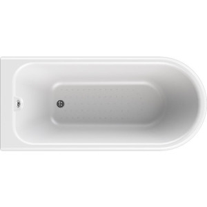 Акриловая ванна Radomir Венеция 175х80 на ножках, слив-перелив, золото (1-01-3-0-1-139)