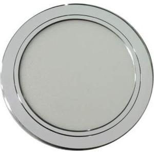 Светильник ONLYLIGHT PA-03/18W 4200K WH ПАНЕЛЬ АЛЮМИНИЙ d225mm цвет БЕЛЫЙ, светодиодный встраиваемый