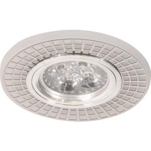 Светильник Imex IL.0030.0602 MR16+LED 3W 4000K, встраиваемый акрил, CH/WH+CH