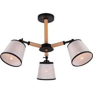 цена на Люстра потолочная Imex MD.0809-3-S BK+BR 3*60Вт E27