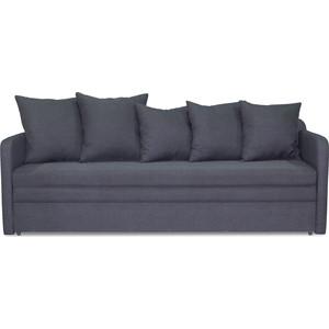 Софа Шарм-Дизайн Трио 2 серый