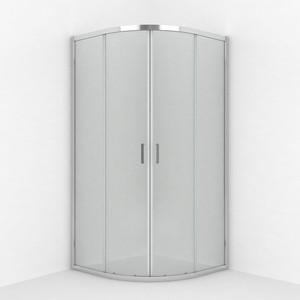 Душевой уголок Erlit Comfort 90x90 профиль хром, стекло прозрачное (ER10209D-61) фото