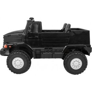 Детский электромобиль грузовик BDM Mercedes-Benz Zetros Black 2WD - BDM0916