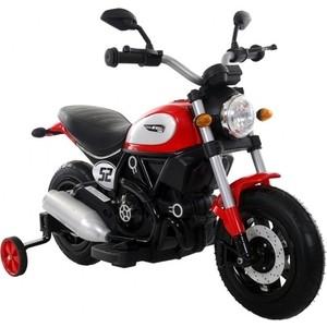 Детский мотоцикл QIKE Детский мотоцикл Qike Чоппер красный - QK-307-RED фото